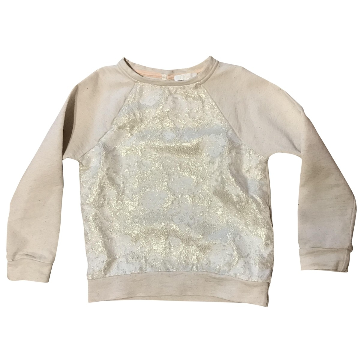 Chloé \N Beige Cotton Knitwear for Kids 6 years - up to 114cm