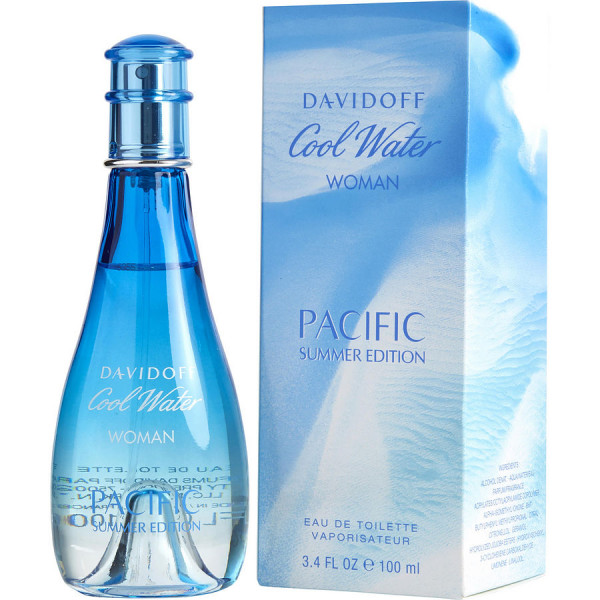 Cool Water Pour Femme Pacific Summer - Davidoff Eau de toilette en espray 100 ML