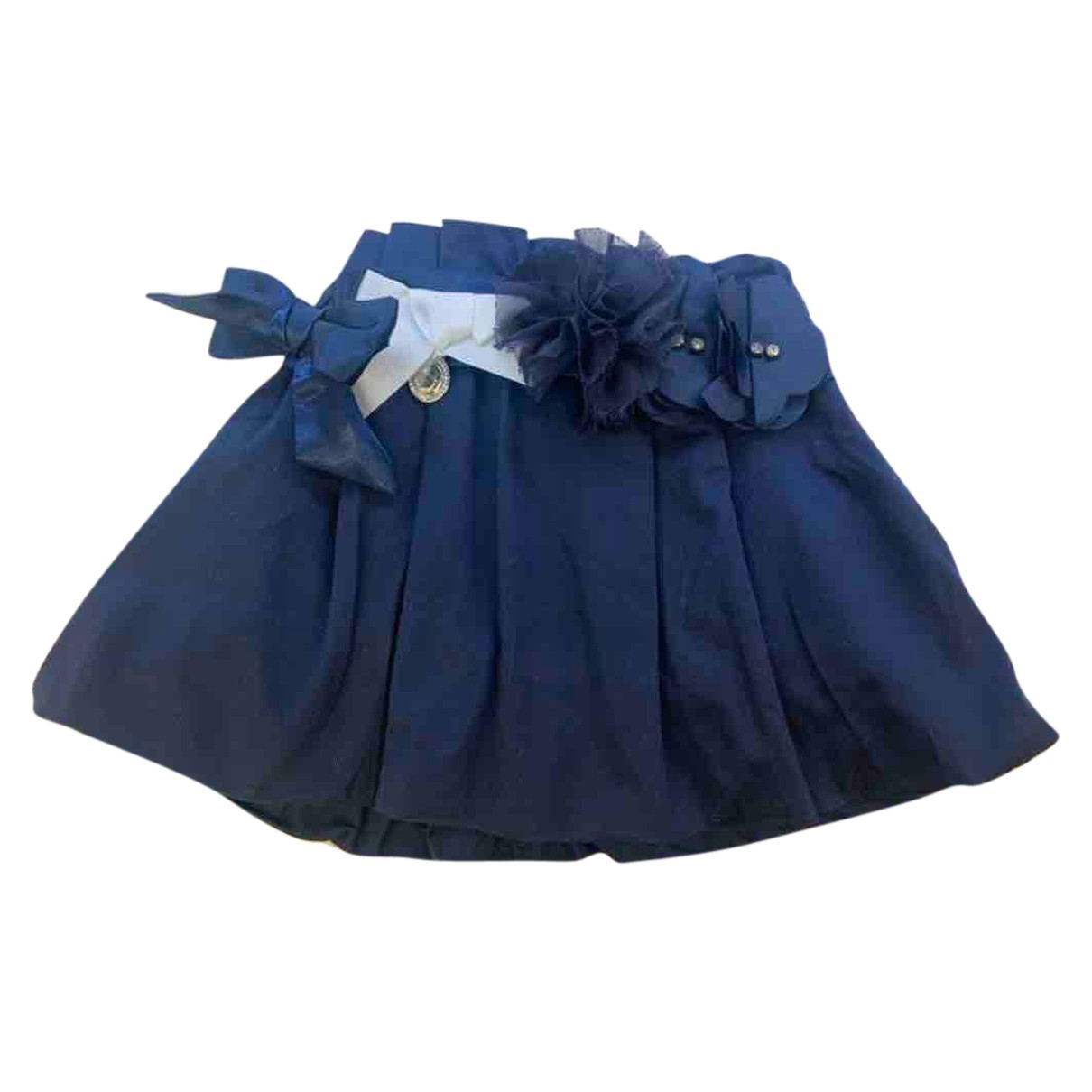 Byblos N Blue Cotton skirt for Kids 2 years - until 34 inches UK