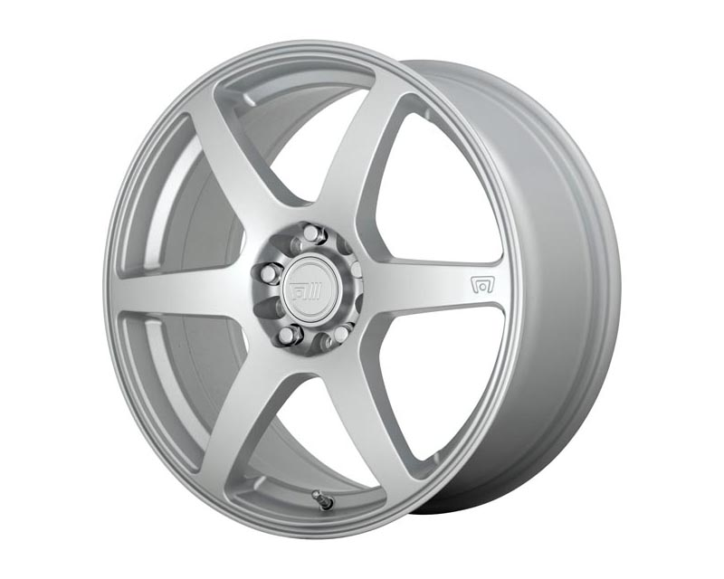 Motegi CS6 Wheel 18x8 5X100/4.5 45mm Hyper Silver