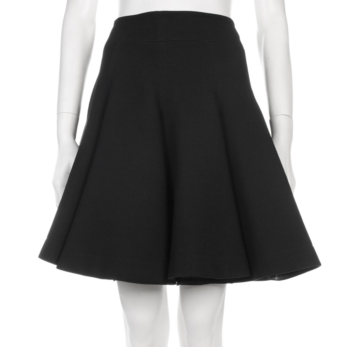 Alaïa \N Black Wool skirt for Women 38 FR