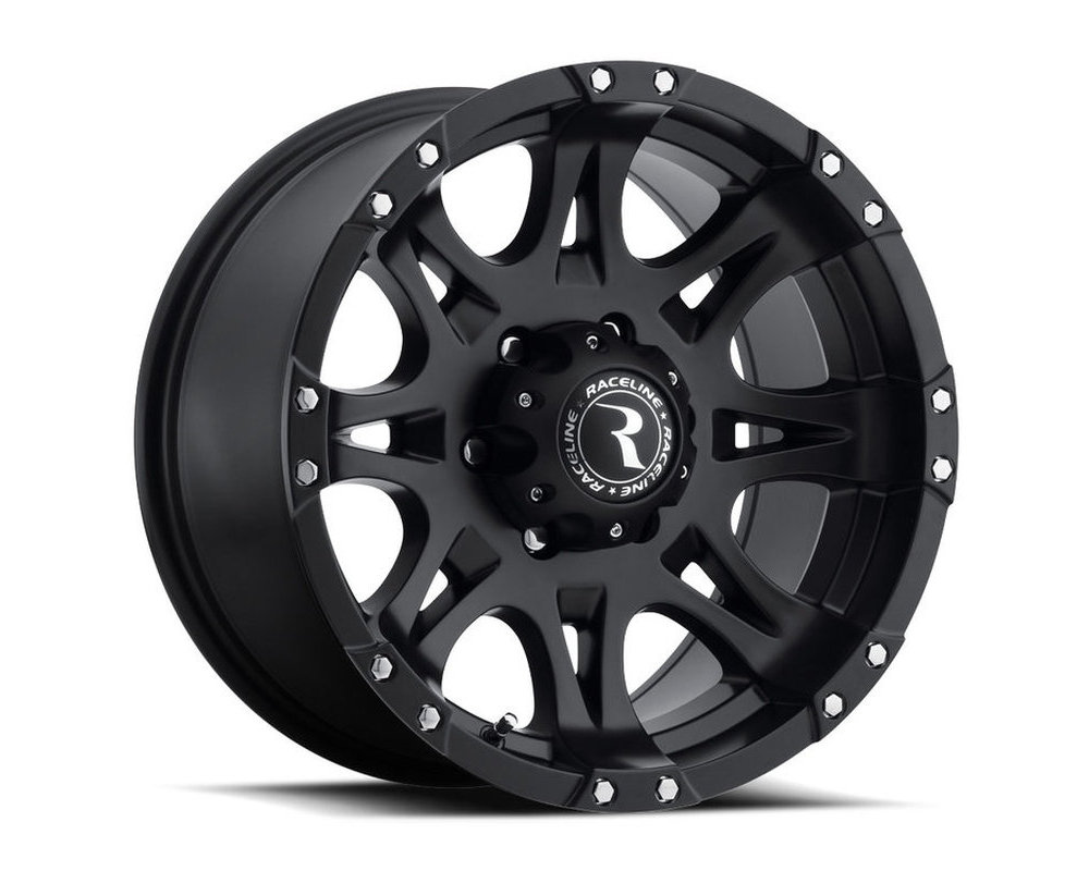 Raceline 981 Raptor Satin Black Wheel 16X8 5X114.3 0mm