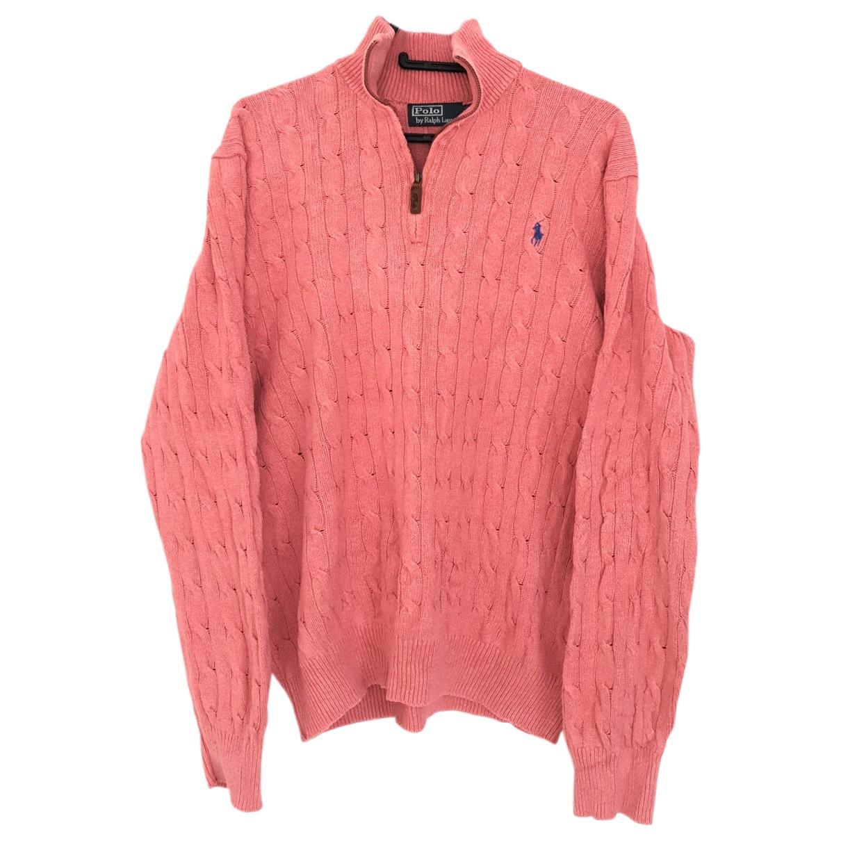 Polo Ralph Lauren \N Pink Cotton Knitwear & Sweatshirts for Men XL International