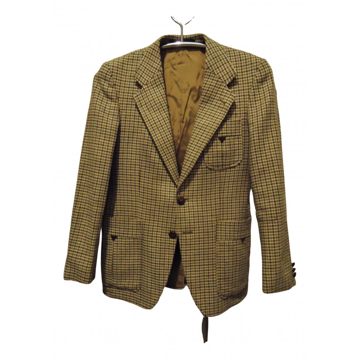 - Vestes.Blousons   pour homme en laine - vert