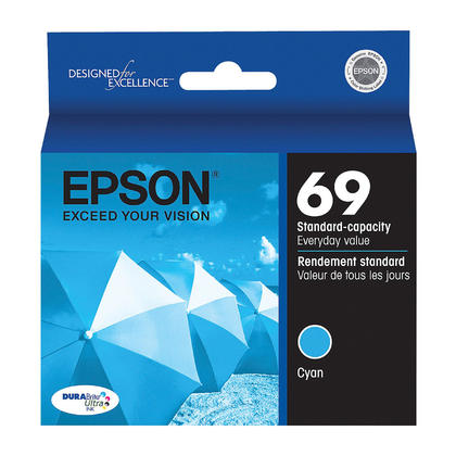 Epson T069220 Original Cyan Ink Cartridge