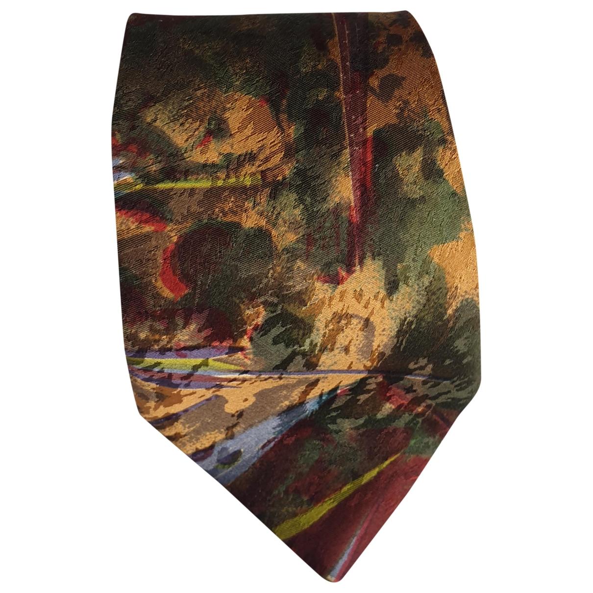 Non Signe / Unsigned \N Krawatten in  Bunt Seide