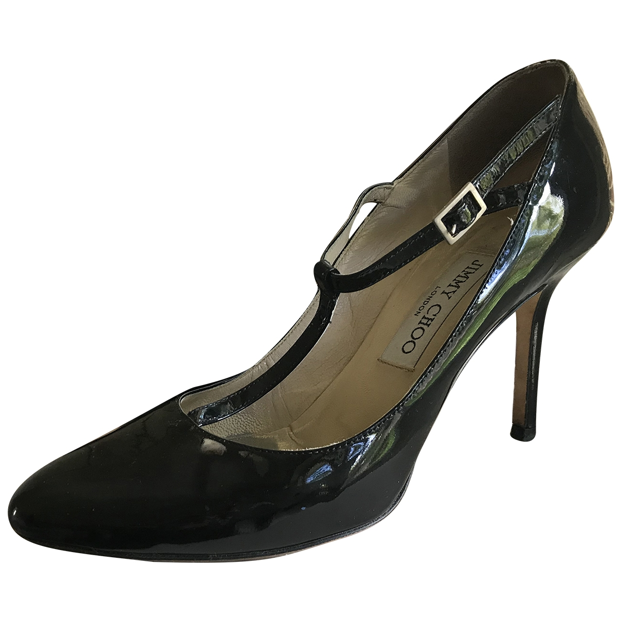 Jimmy Choo \N Pumps in  Schwarz Lackleder