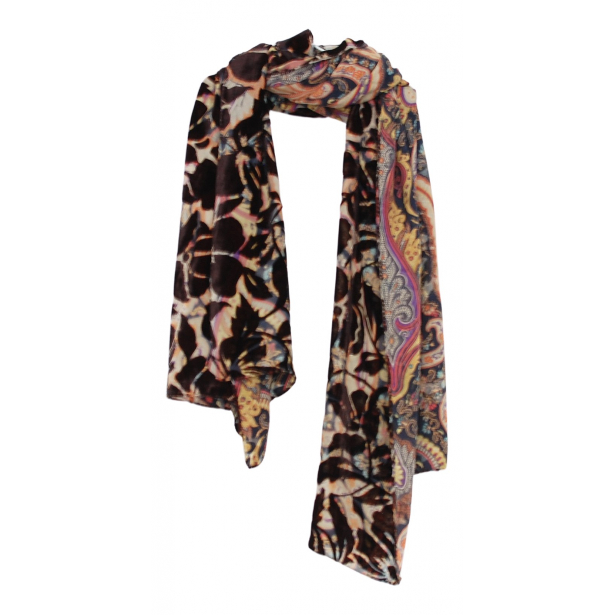 Etro N Multicolour Silk scarf for Women N