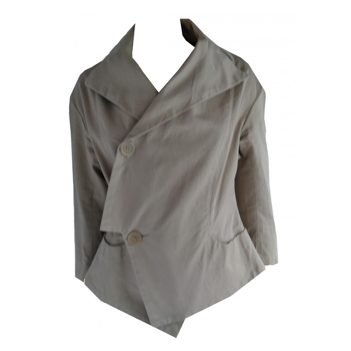 Yohji Yamamoto \N Beige Cotton jacket for Women S International