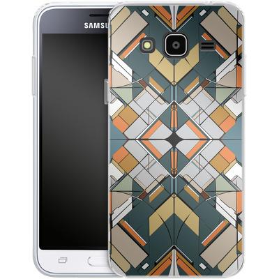 Samsung Galaxy J3 (2016) Silikon Handyhuelle - Mosaic I von caseable Designs