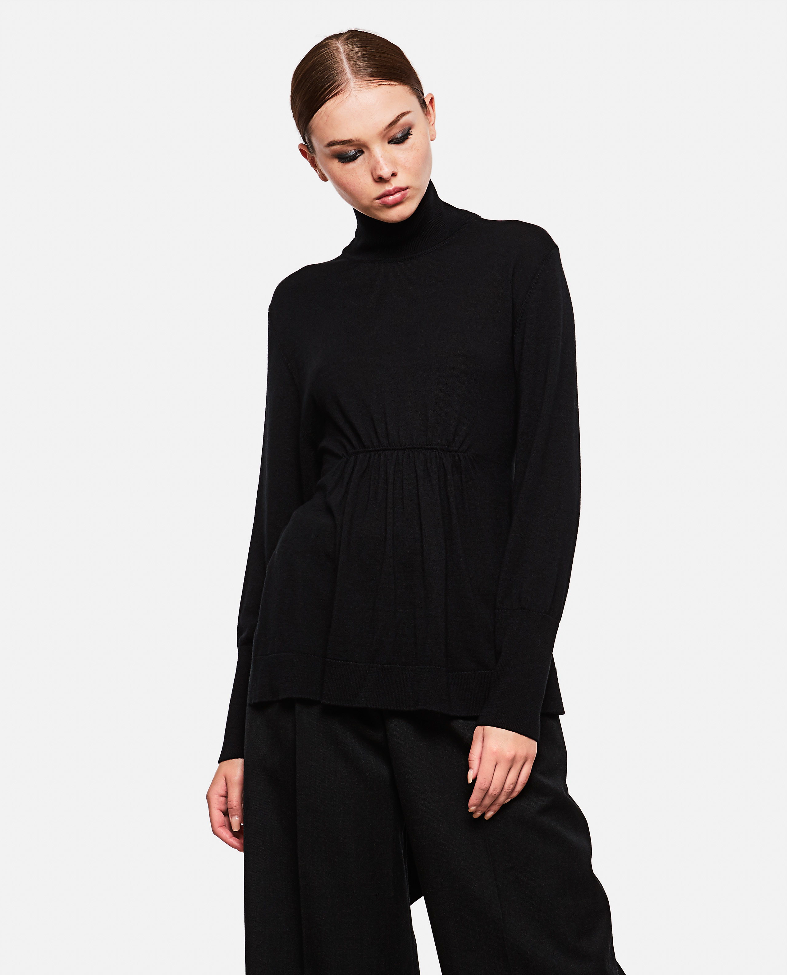 Sweater with  belt