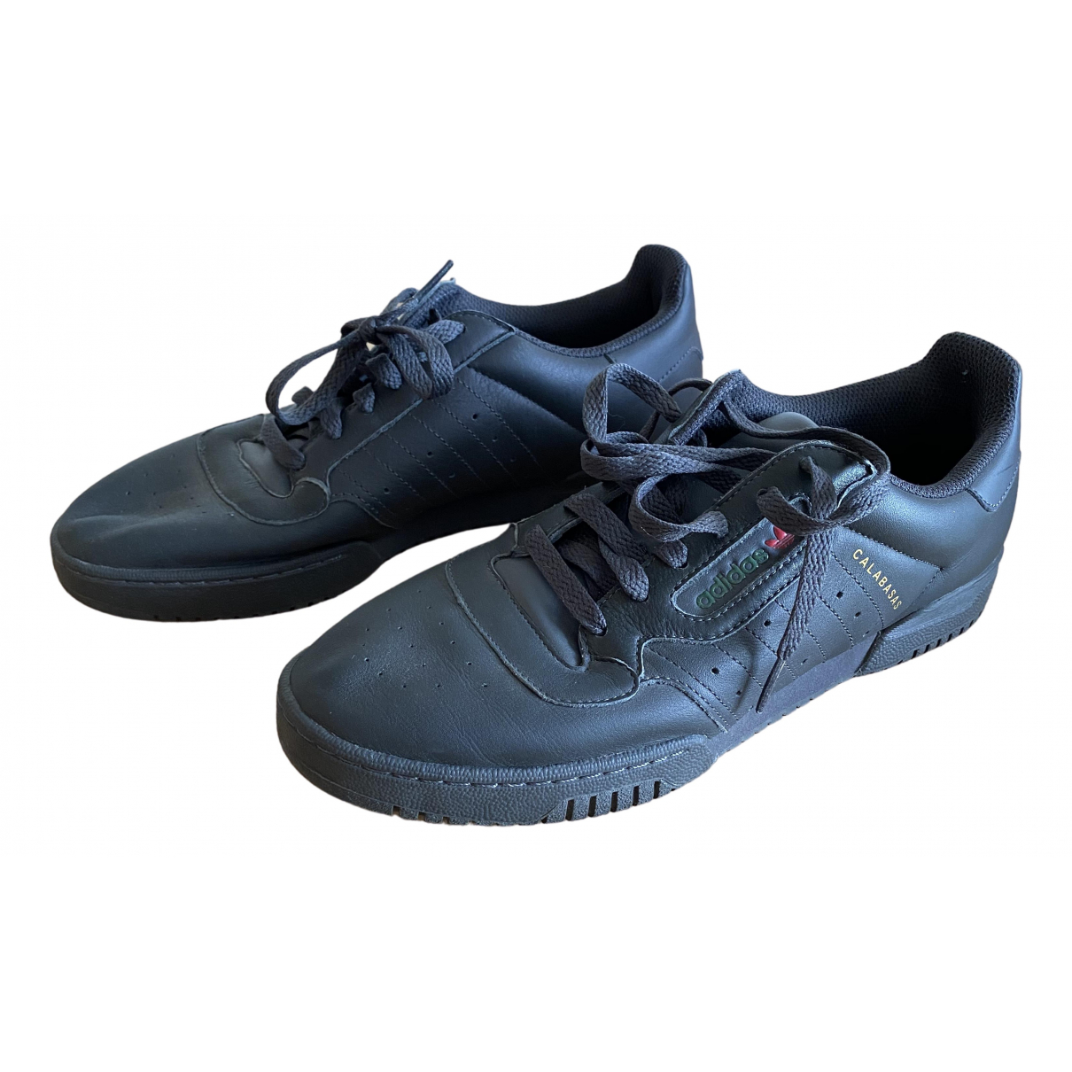 Yeezy X Adidas POWERPHASE Sneakers in  Schwarz Leder