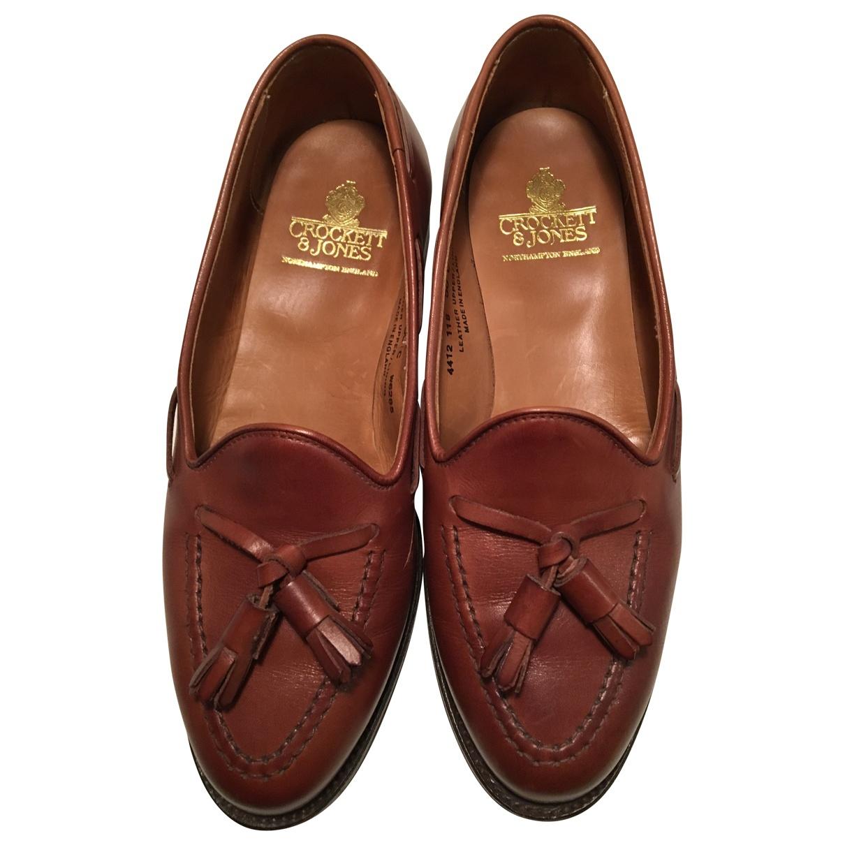 Crockett& Jones - Mocassins   pour femme en cuir - marron
