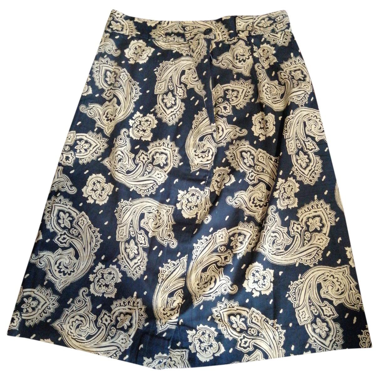 Gianni Versace \N Multicolour Cotton skirt for Women 40 IT