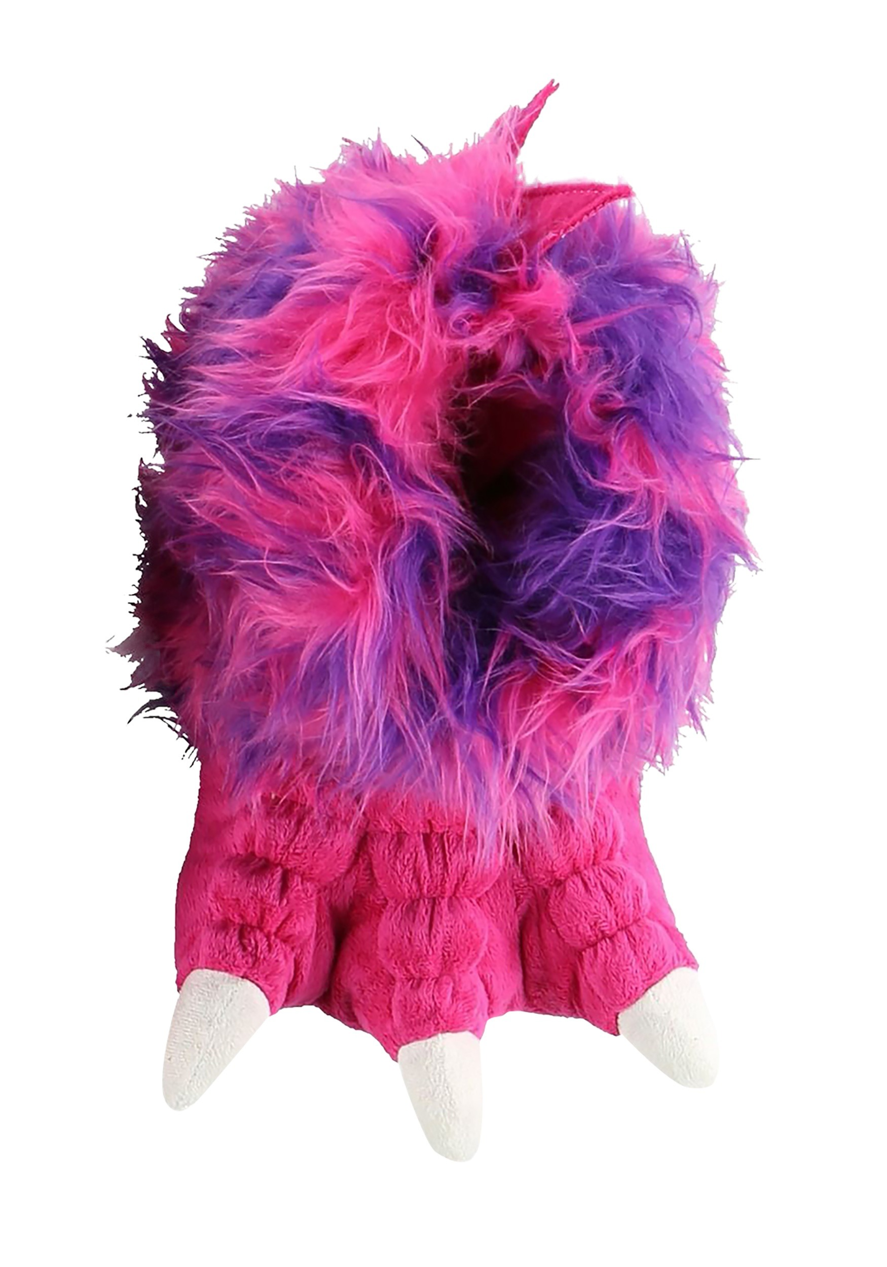 Pink Monster Paw Child Slippers