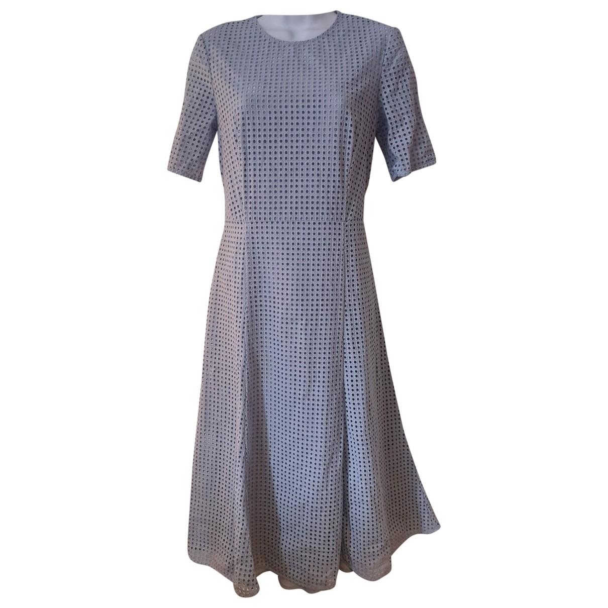 Hobbs - Robe   pour femme en coton - bleu