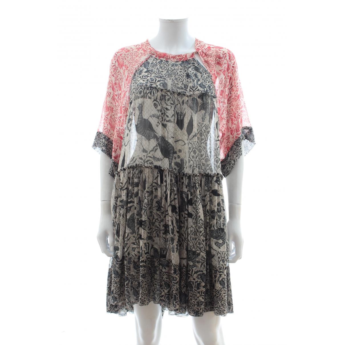 Isabel Marant \N Multicolour Silk dress for Women 10 UK