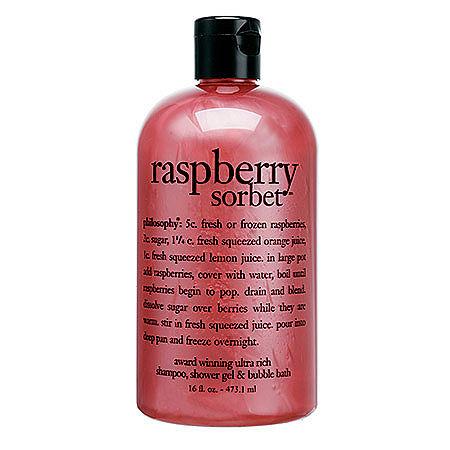 philosophy Raspberry Sorbet, One Size , Multiple Colors
