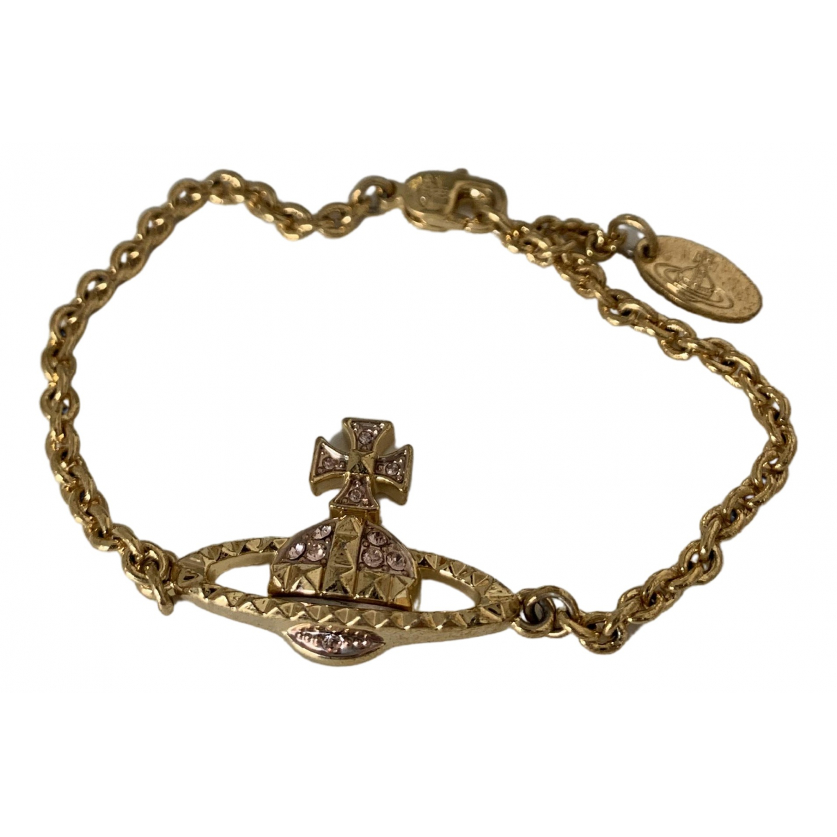 Vivienne Westwood - Bracelet   pour femme en metal - dore
