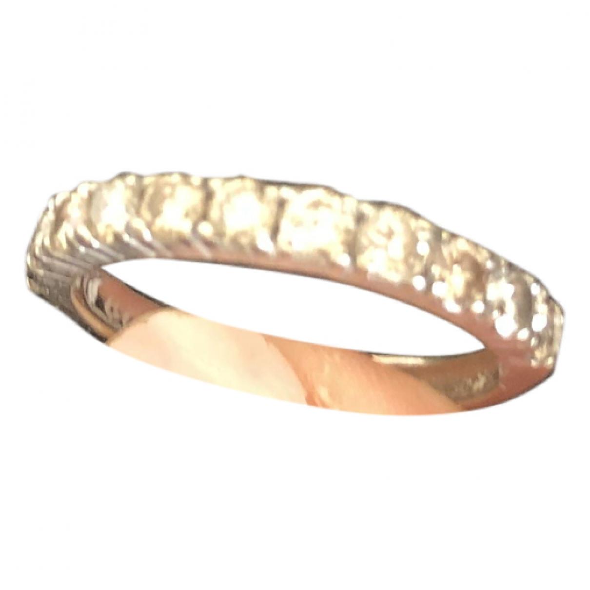 - Bague Alliance pour femme en or blanc - blanc