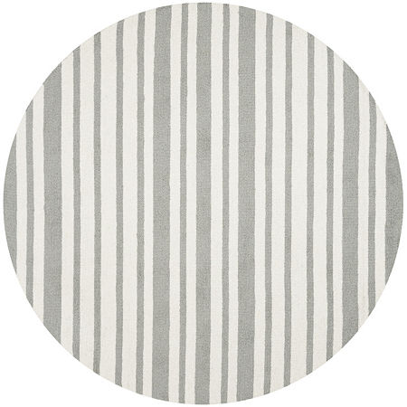 Safavieh Kids Collection Jared Geometric Round Area Rug, One Size , Multiple Colors