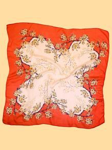 Flower Pattern Bandana