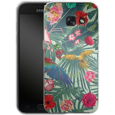 Samsung Galaxy A3 (2017) Silikon Handyhuelle - Tropic Fun von Mark Ashkenazi
