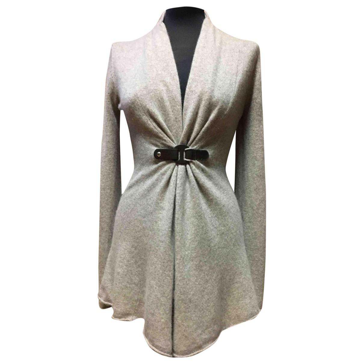 Cynthia Rowley - Pull   pour femme en cachemire - gris