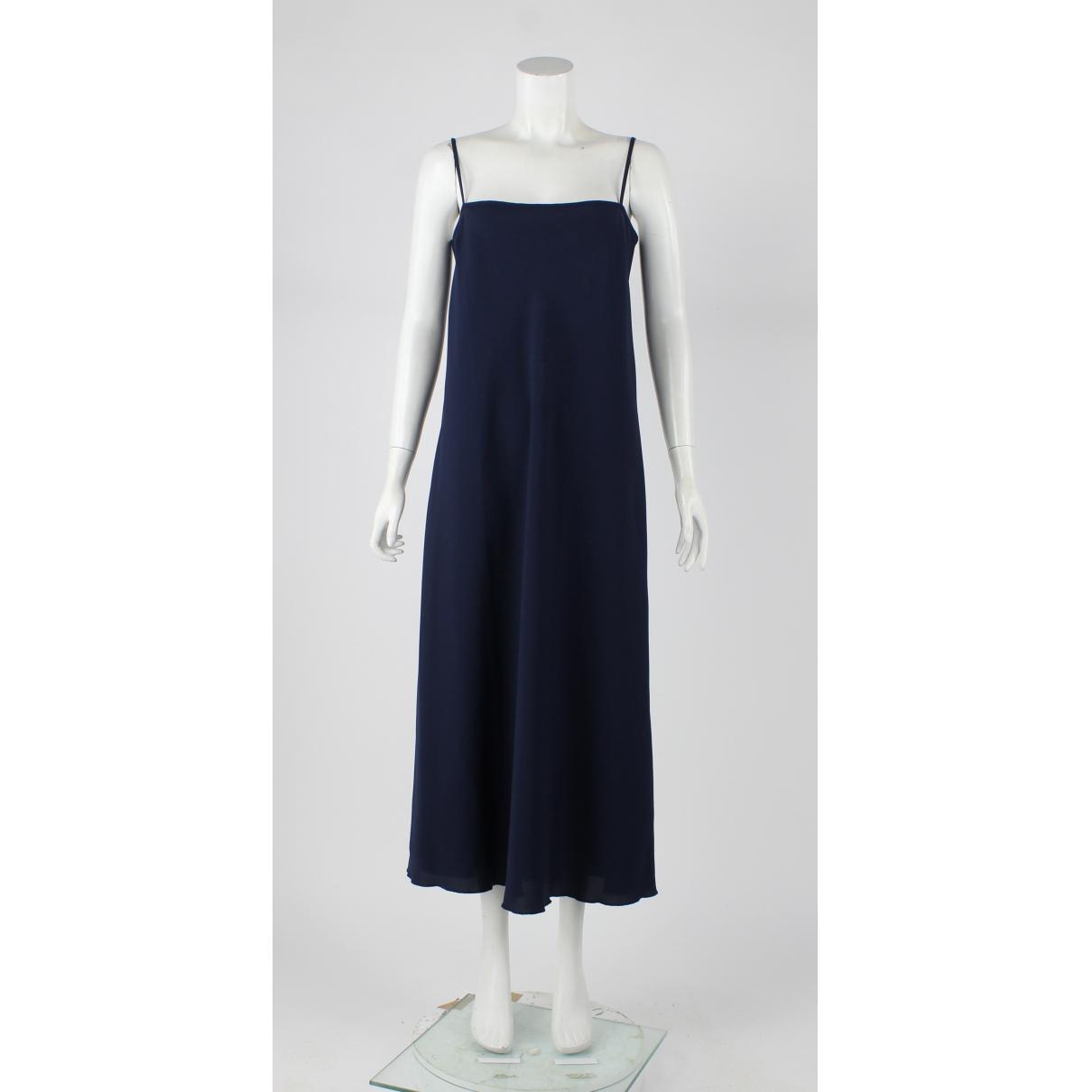 Red Valentino Garavani \N Kleid in  Marine Polyester