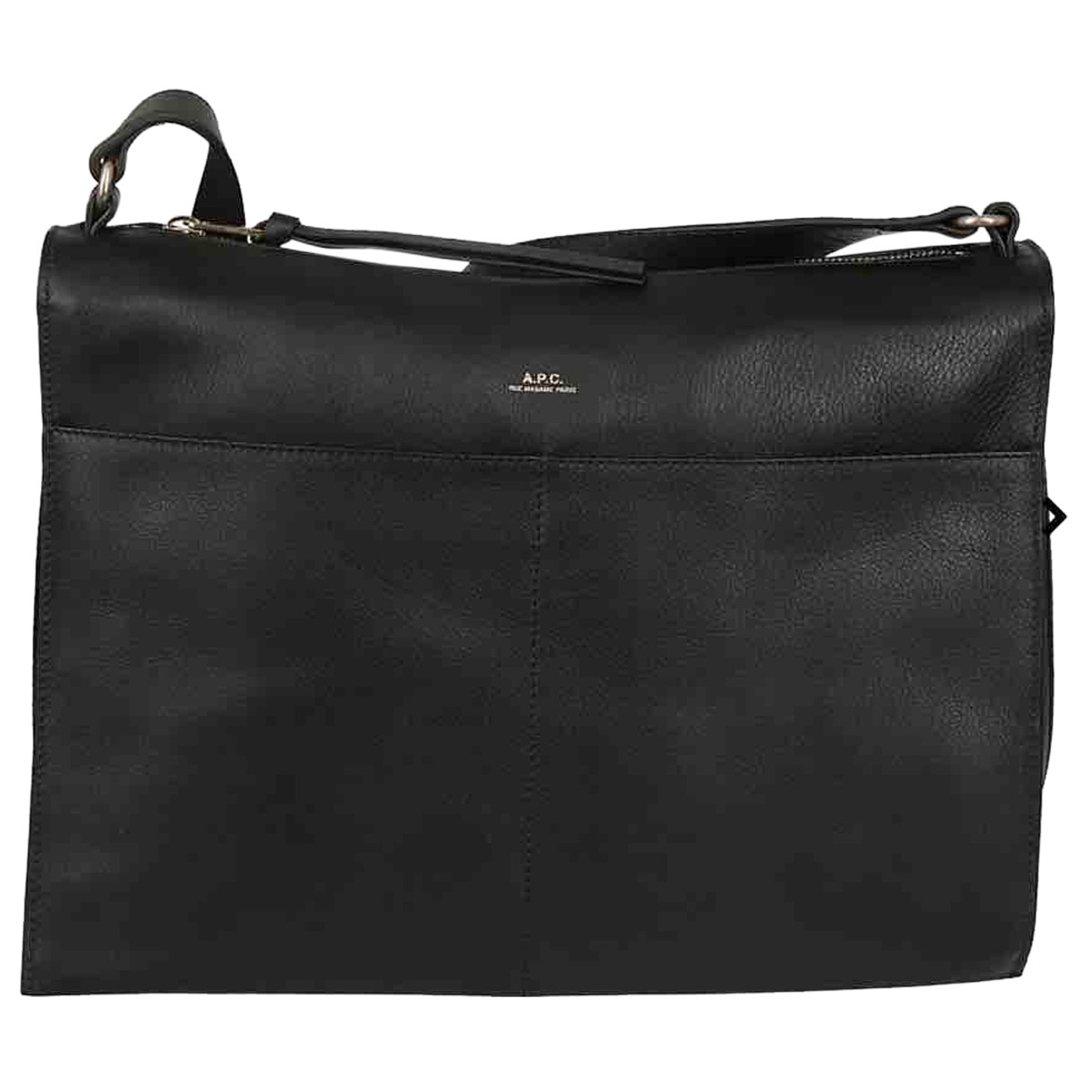 Apc N Black Leather handbag for Women N