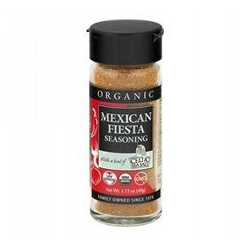 Organic Spice Blend Mexican Fiesta 1.73 Oz by Celtic Sea Salt