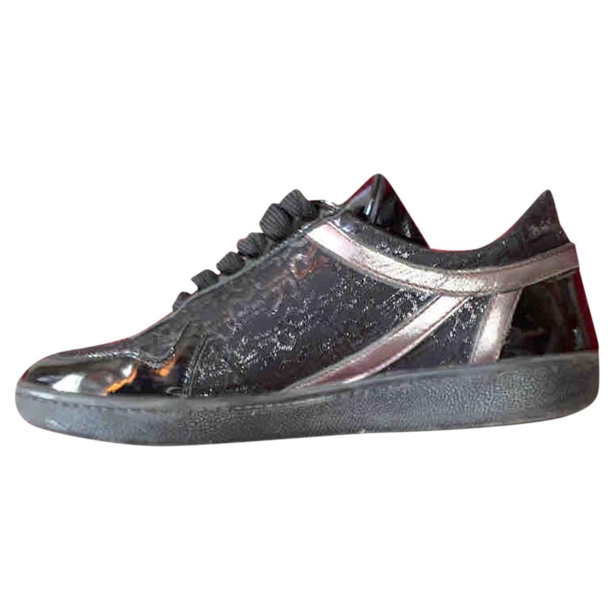 John Richmond \N Sneakers in  Schwarz Leder