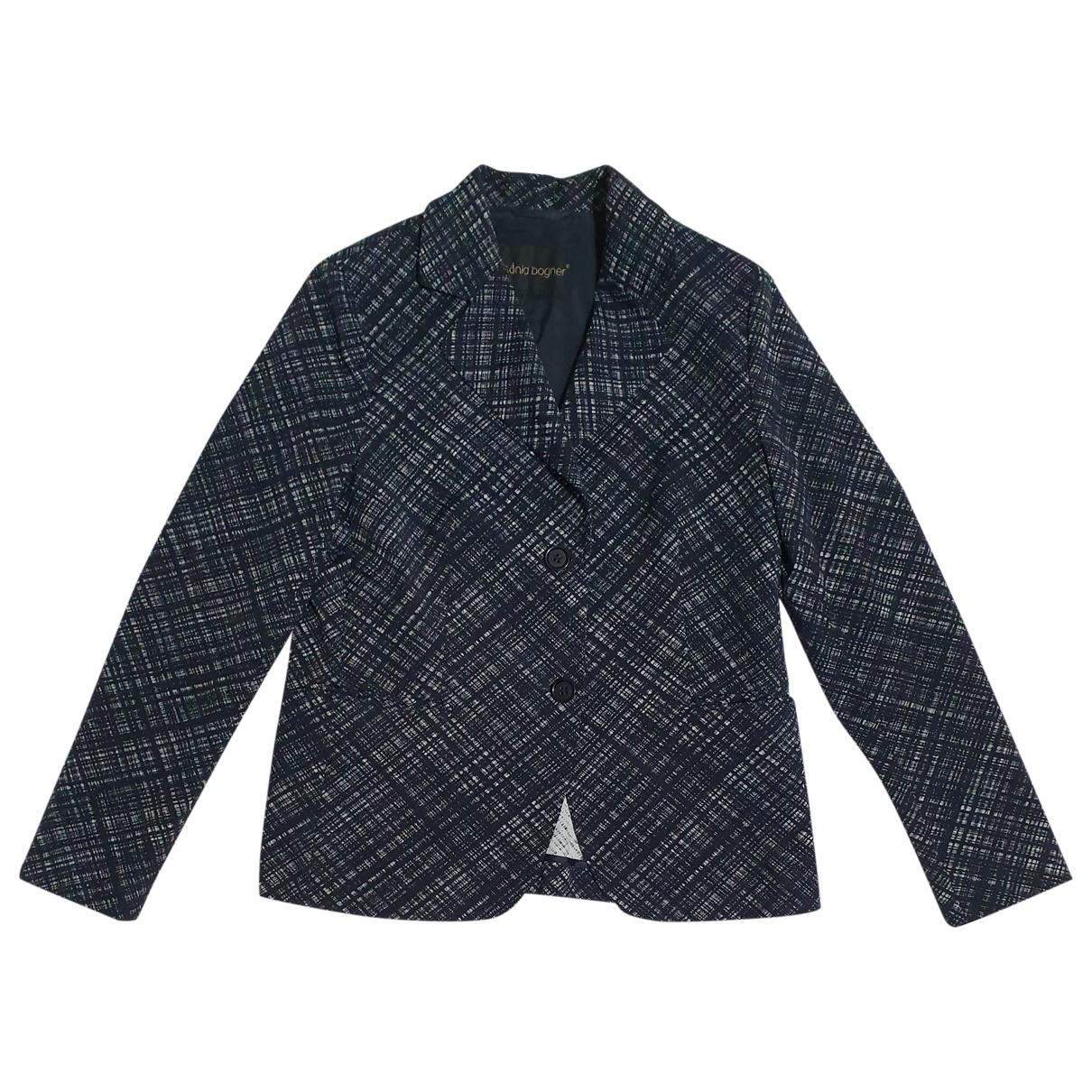 Bogner - Veste   pour femme en coton - noir