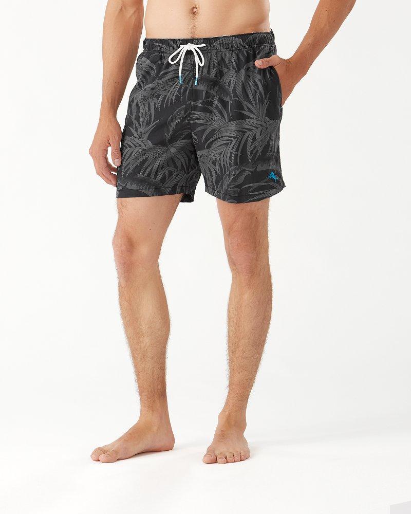 Naples Desert Fronds 6-Inch Swim Trunks