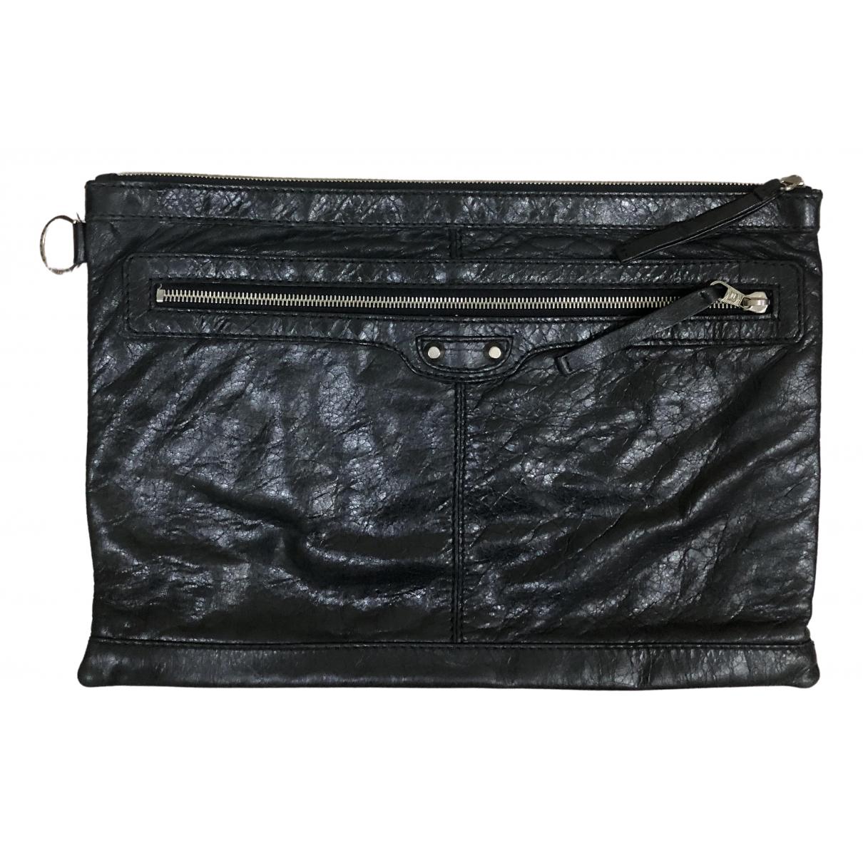Balenciaga \N Kleinlederwaren in  Schwarz Leder