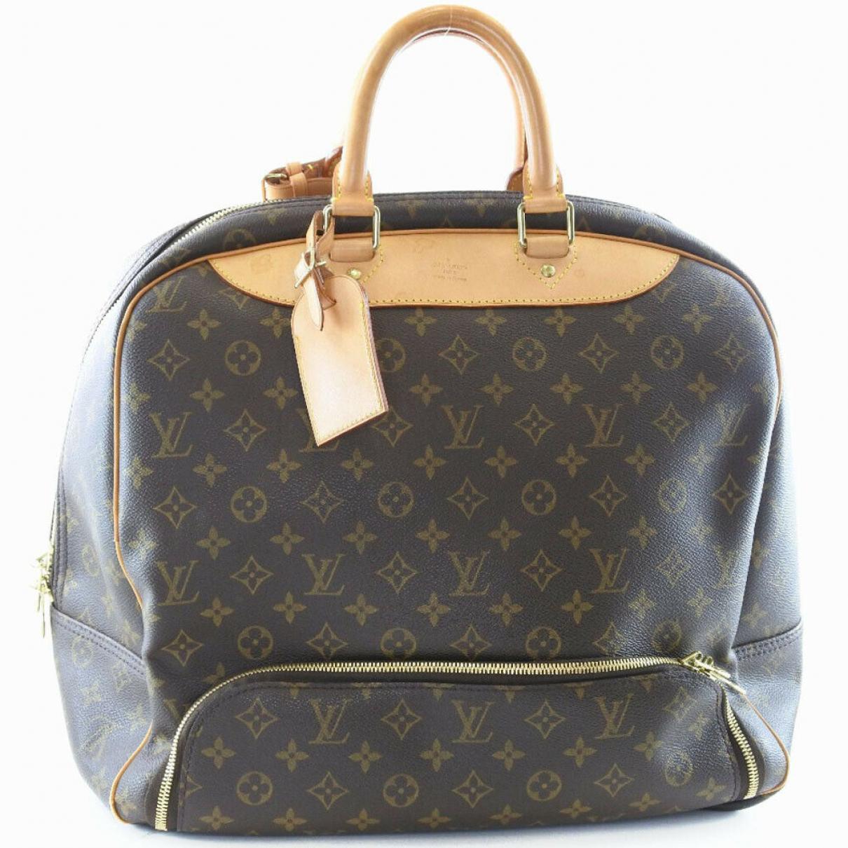 Louis Vuitton \N Leather Travel bag for Women \N