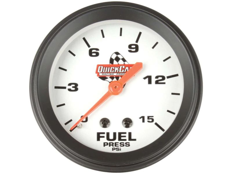 Quickcar Racing Products Fuel Pressure Gauge 2-5/8 inches