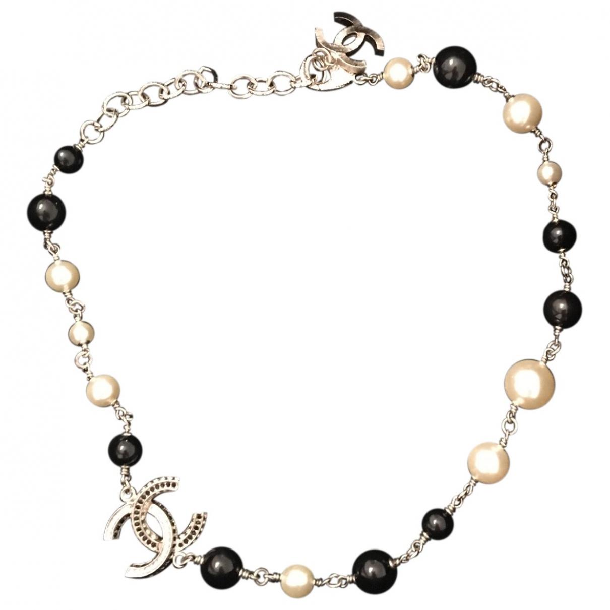 Collar CC de Perlas Chanel