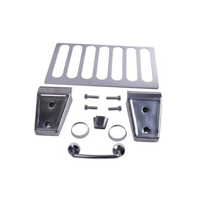 Rugged Ridge Stainless Steel Hood Dress-Up Kit - 11101.04