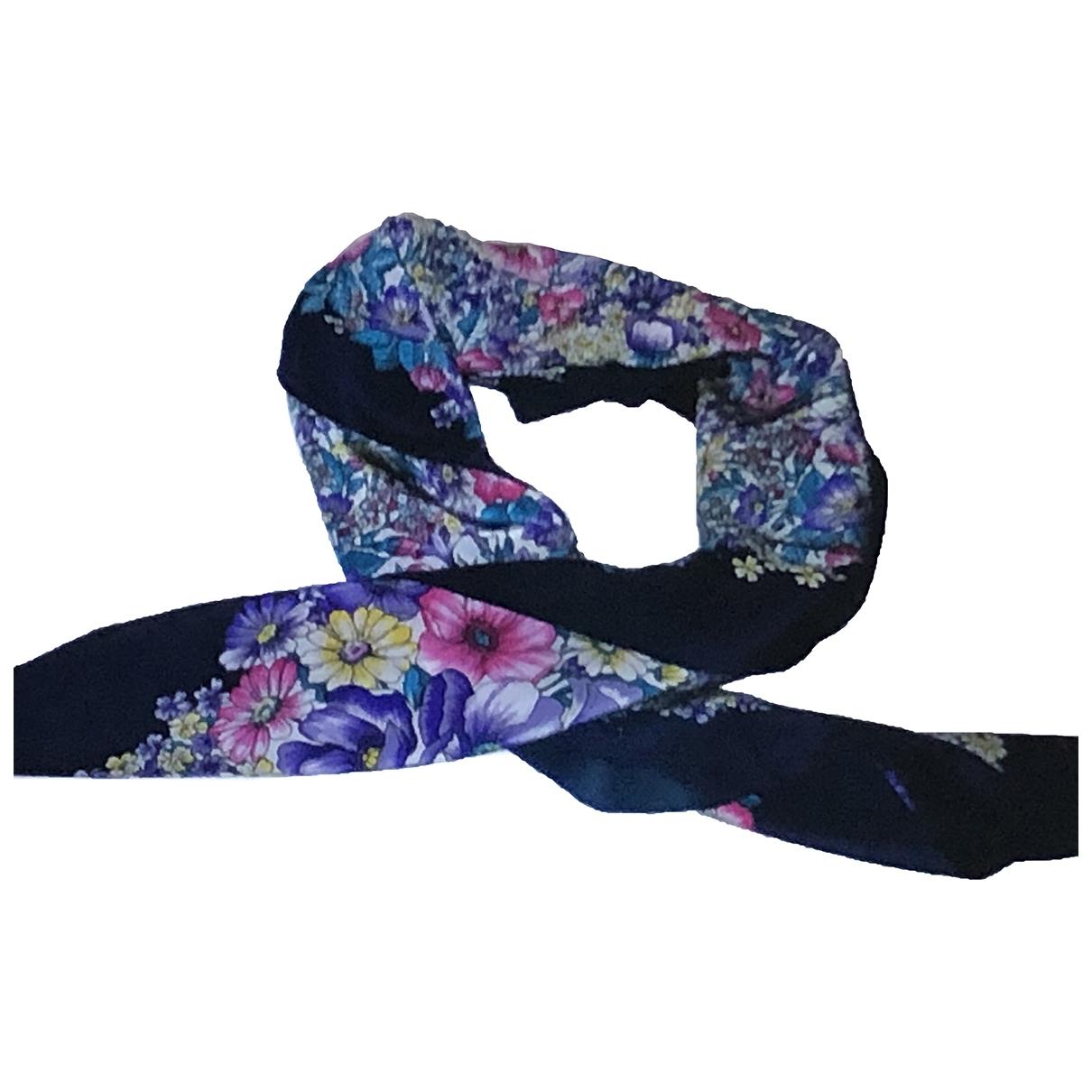 Roberto Capucci \N Blue Silk scarf for Women \N