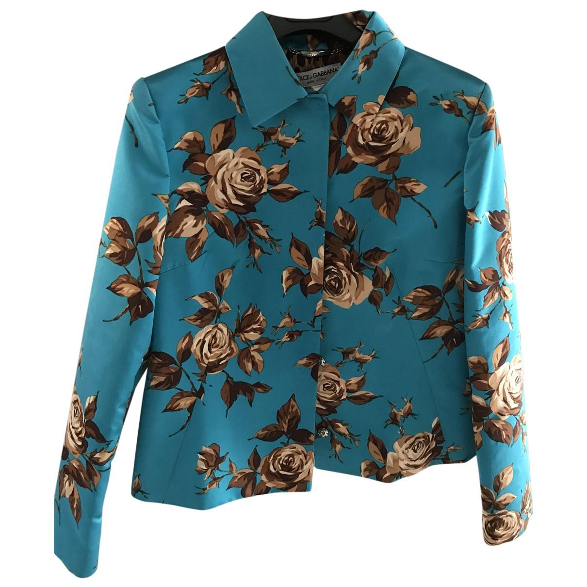 Chaqueta corta de Seda Dolce & Gabbana