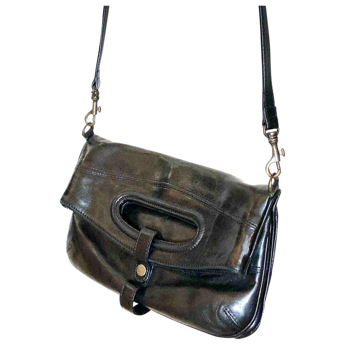 Robert Clergerie \N Black Leather handbag for Women \N
