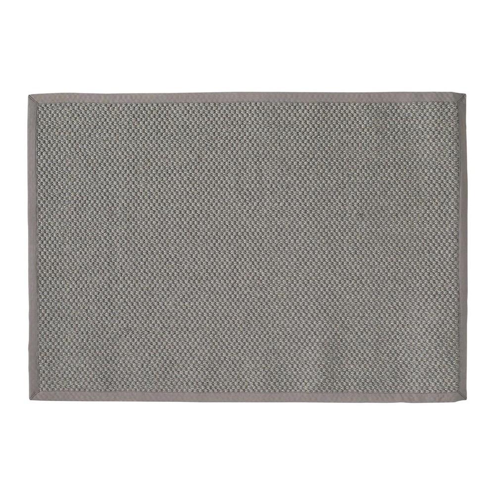 Flechtteppichaus Sisal, 140 x 200cm, grau