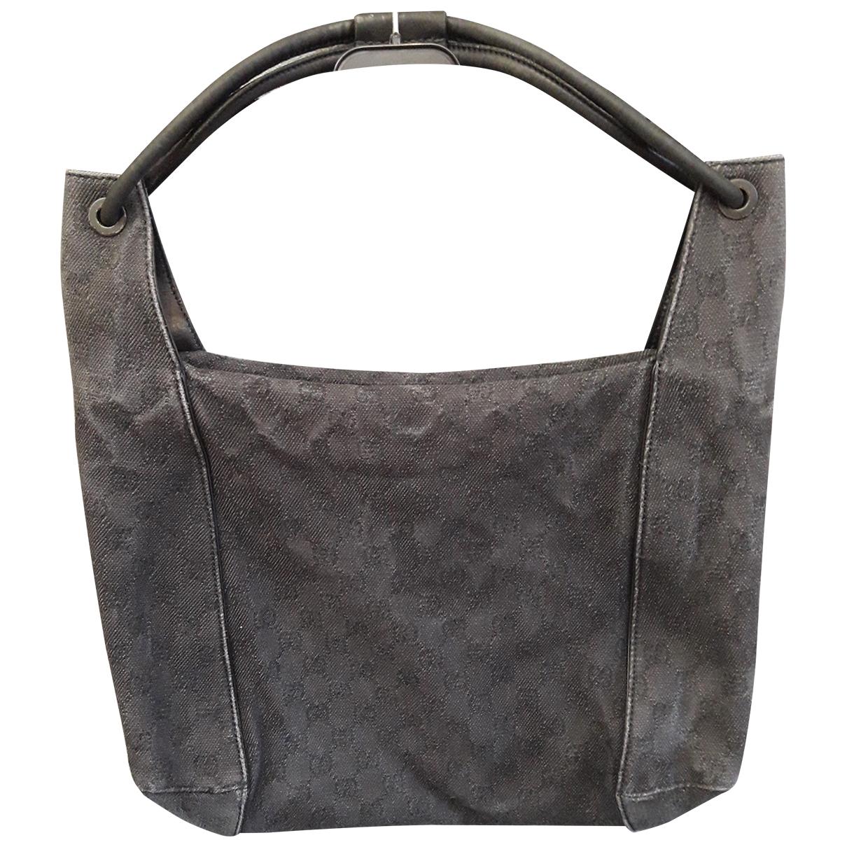 Gucci N Anthracite Cloth handbag for Women N