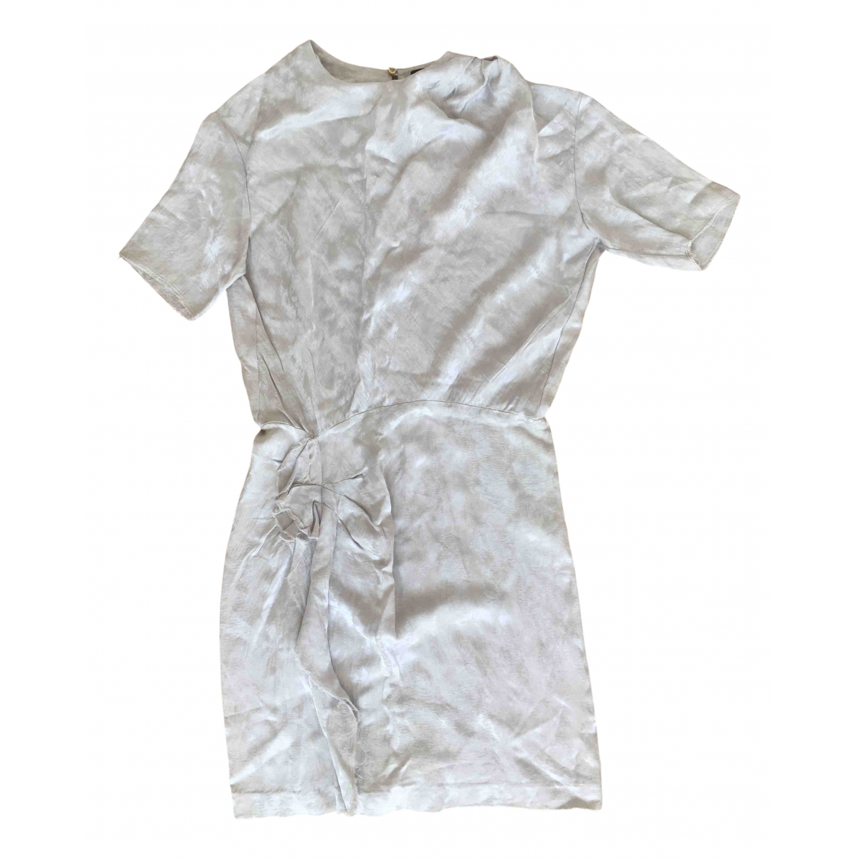 Isabel Marant \N Metallic Cotton dress for Women 38 FR