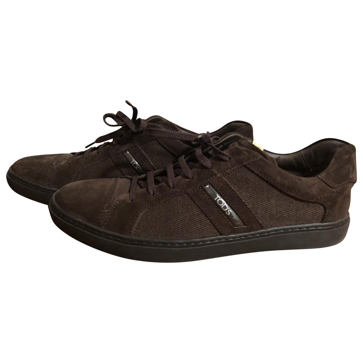Tods \N Sneakers Braun
