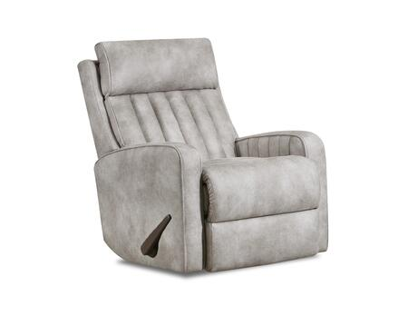 Bowen Collection 4231-16BOWENNATURAL Swivel Glider Recliner Steel Recliner Mechanism  Made in USA  Contemporary Style  Hardwood Frame Construction