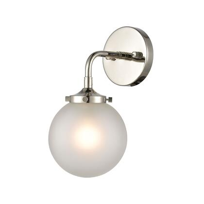 15360/1 Boudreaux 1-Light Sconce in Polished Nickel with