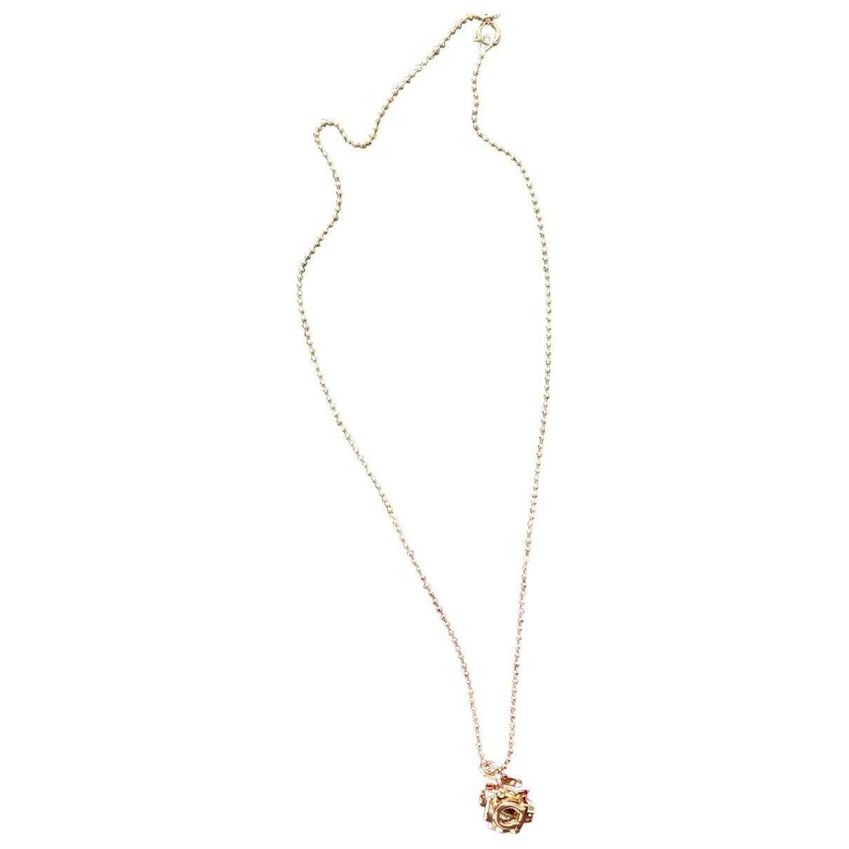 Salvatore Ferragamo \N Gold Gold plated necklace for Women \N