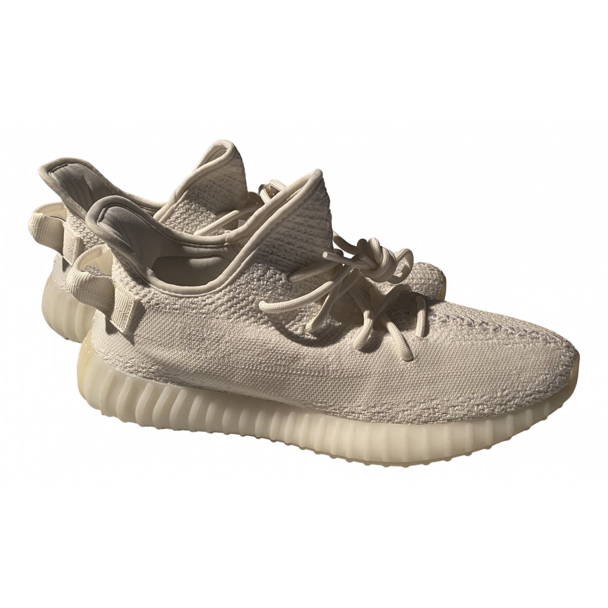 Yeezy X Adidas Boost 350 V2 Sneakers in  Weiss Polyester